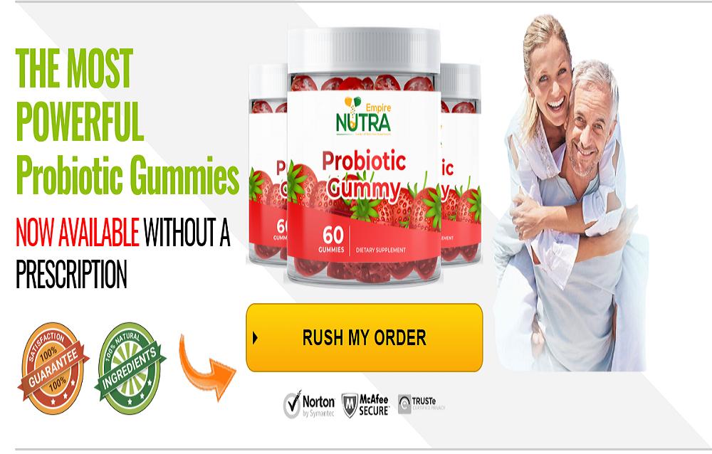 Nutra Empire's Probiotic Gummies