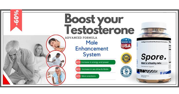 Spore Testosterone Booster